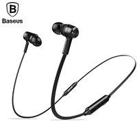 Baseus Magnetic Wireless Bluetooth Earphone For IPhone7 Samsung S8 Sport Running Stereo In Ear Earphone Earbuds