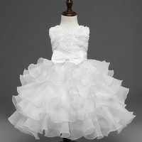 Kids New Arrivals Ball Gowns Luxury Princess Clothes 3 4 5 6 7 8 9 Years