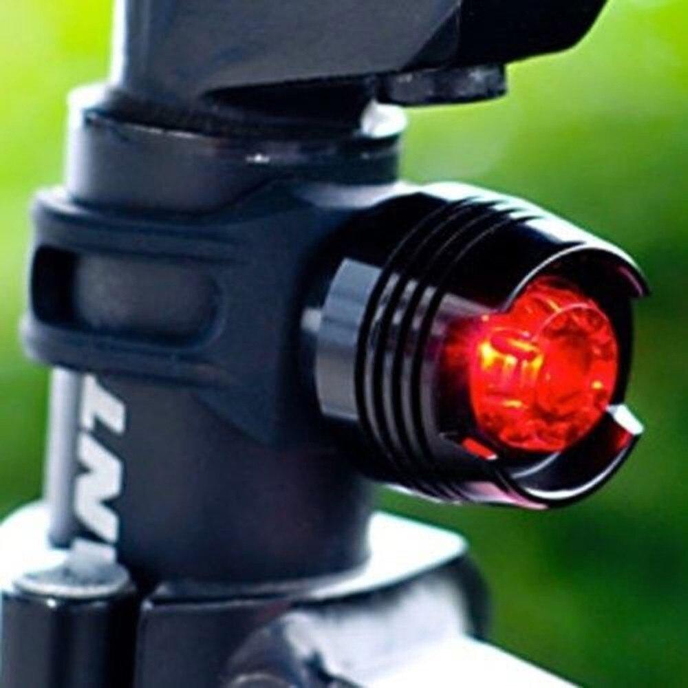 Bicycle Light 2 Pack Bike Bicycle Red LED Rear Light 3 Modes Waterproof Tail Lamp Black  Brightness  Bisiklet  Lamba Luz #070