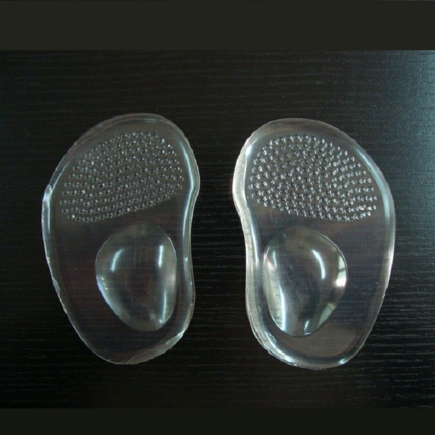 SpringYard 2 pairs lot Gel High Heels Sandals Forefoot Pad Foot Care Insoles Anti slip Arch Metatarsal Cushion Shoes Woman in Insoles from Shoes