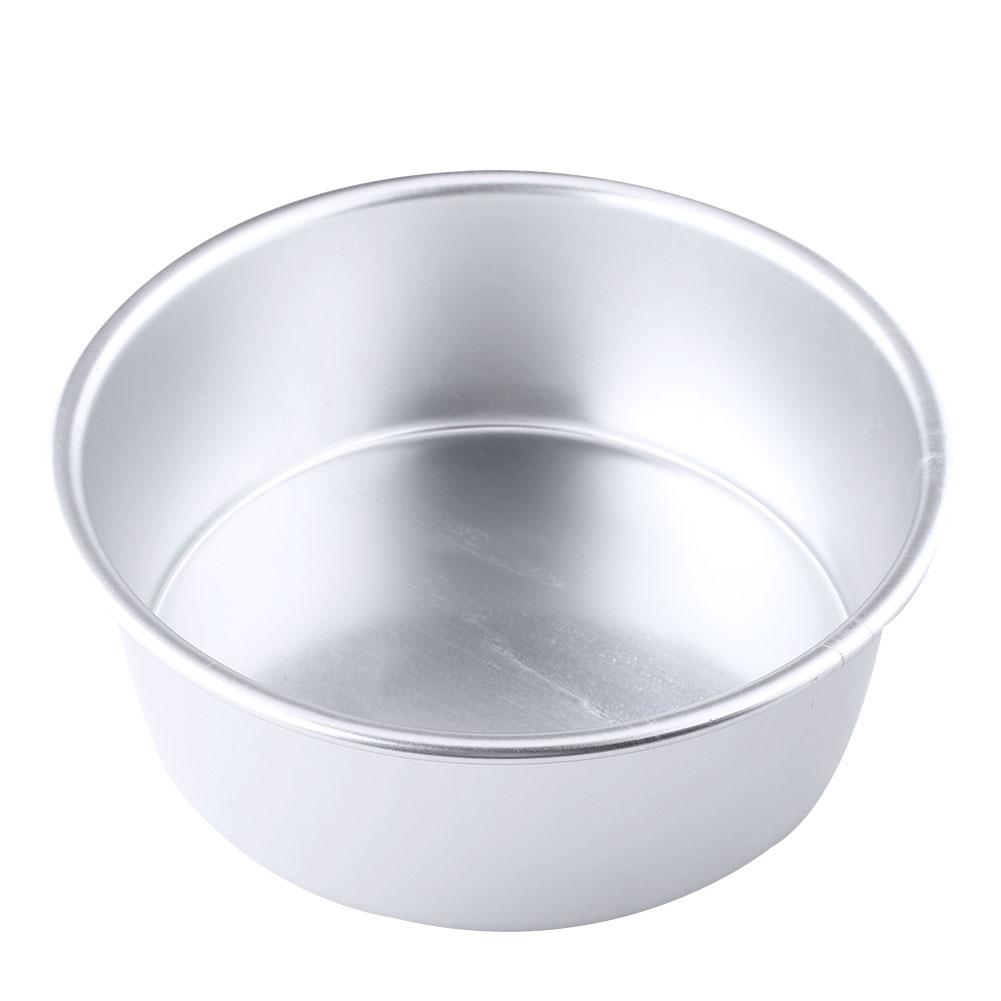 Cake Bakeware Baking Tin Bottom Pan Round Removable 6 quot Aluminum Kitchen Home amp Amp Amp Inch