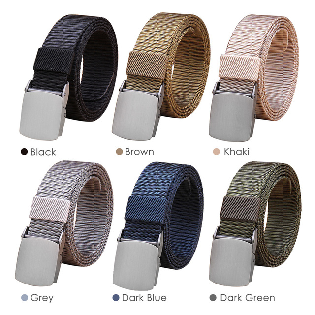 71a224f3a6ace0 Lixada Tactical Belt Men's Outdoor Nylon Belts Outdoor Waistband Adjustable  Emergency Survival Hunting Belts Accessories