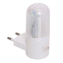 4 LEDs Wall Lamp EU Plug US Plug Wall Mounted Home Lighting 3W Emergency Light LED Night Light Energy-efficient Bedside Lamp