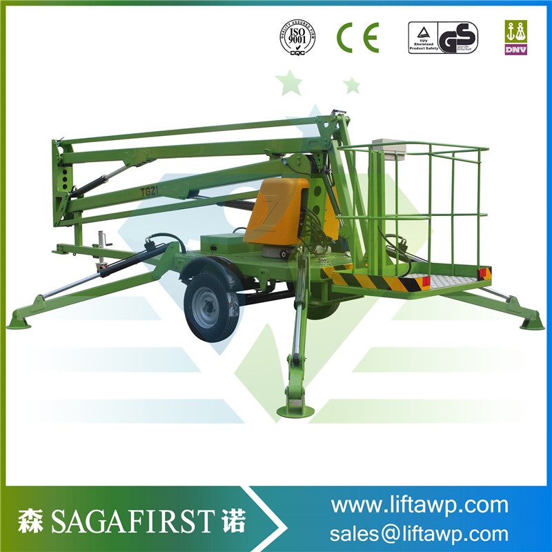 SAGAFIRST Light Weight Movable Trailed Aerial Work Platforms