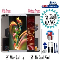 5.99 LCD For XIAOMI Mi 6X Mi A2 LCD Display Mi6X MiA2 Touch Screen Tested Digitizer Assembly With Frame