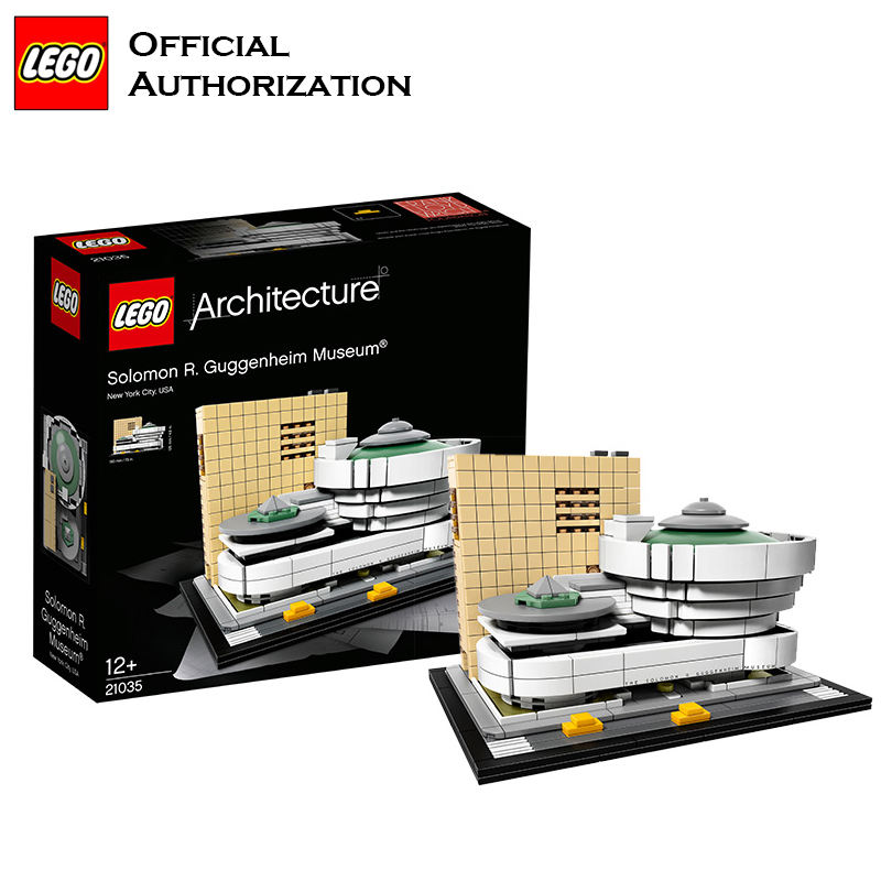 LEGO Building Blocks Toys 468pcs Architecture Series Musume Building Toys For Travel Box Gift Souvenir Brinquedos For Birthday lego architecture series city building blocks toys paris louvre building toys a tourist souvenir for lego travel toys brinquedos