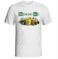 Breaking Bad Los Pollos Hermanos T Shirts Men Funny T Shirt TV Mr White Heisenberg Jessie