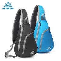 AONIJIE Waterproof Pack Unisex Triangle Bag One-shoulder Bags Messenger Bag Foldable Portable   Running   Bag