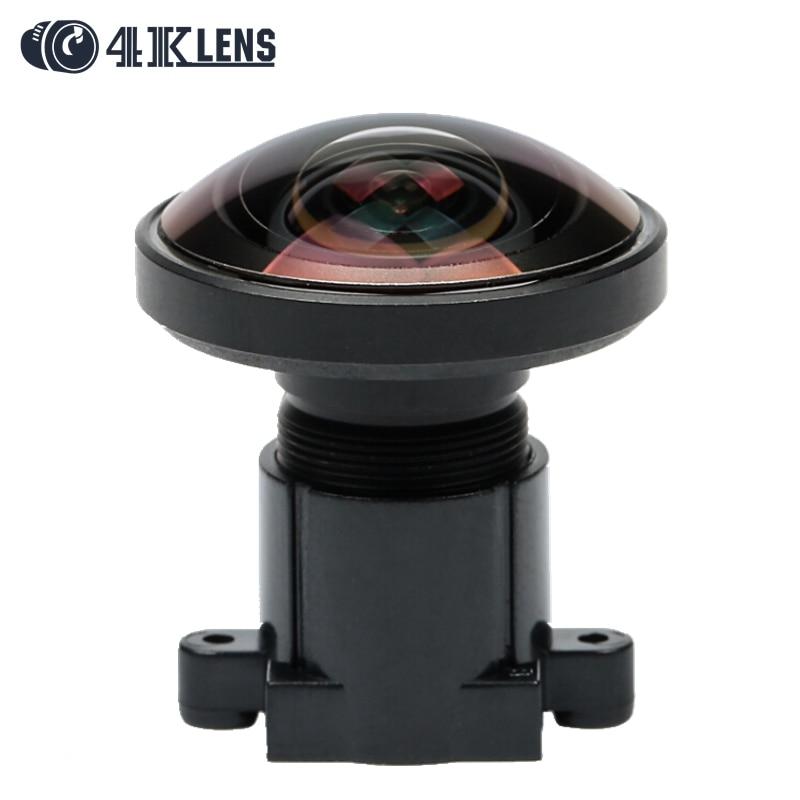 4K LENS 1 2MM Lens IR Fisheye 1 2 3 Inch 16MP S Mount 220D for