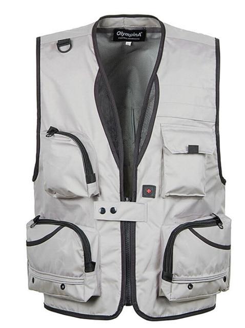 Men Vests Summer Vests Photography Vests Code Multi Pocket Plus Size XL-5XL
