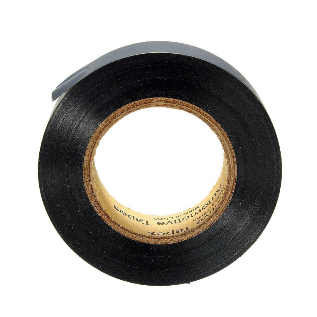 1 Roll Black Electrical Insulation Tapes Mayitr Flame Retardant Wire Harness Adhesive Tape For Electricians Home Tool 19mm20m In From Improvement