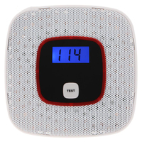 1PCS New LCD Display CO Detector Carbon Monoxide Alarm Sensor Poisoning Gas Tester Human Voice Warning