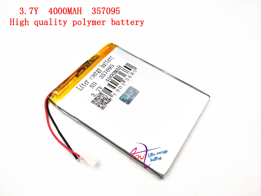 3.7V 357095 Liter energy battery polymer lithium battery 4000Mah plus protection board factory direct