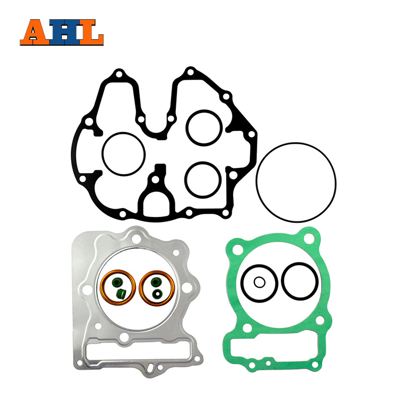 Motorcycle Engine Parts For Honda Xr400 Xr 400 1996 2004: AHL Motorcycle Head Cylinder Gaskets Engine Starter Cover