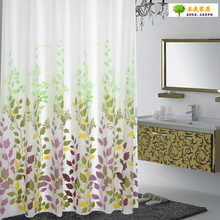 1pc 1.8*1.8m PE  Bathroom Solid Curtian  water Cube Shower Curtain Bathroom Decoration