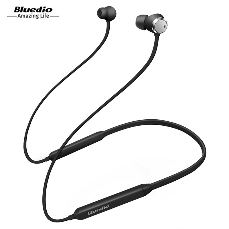 Bluedio TN Active Noise Cancelling Sports HiFi Bluetooth Earphone Wireless Headset For Phones And Music With Dual Microphone