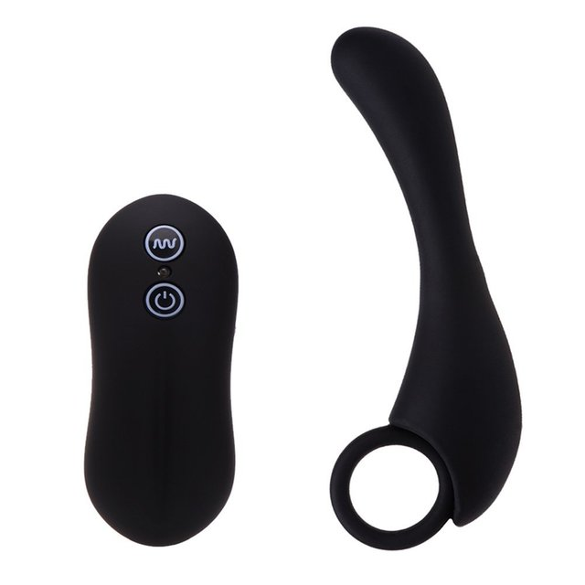 10-Frequency Vibrating Silicone Anal Plug G-spot Stimulation Prostate Massage Vibrators Sex Toys for Men and Women