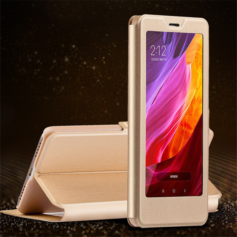 Xiaomi Redmi 5 Plus Case Leather Flip Window Cover Smart Sleep Protector Phone Cases For Xiaomi Redmi 5 Couro Capa Coque Fundas