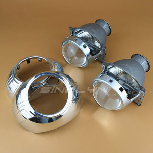 Image 4 - Sinolyn Headlight Lenses Q5 H7 D2S HID Xenon/Halogen/LED Lens 3.0 Bi xenon Projector For Car Lights Accessories Retrofit Styling
