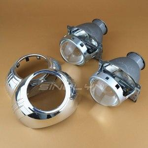 Image 4 - Sinolyn far lensler Q5 H7 D2S HID Xenon/halojen/LED Lens 3.0 bi xenon projektör araba işıkları aksesuarları güçlendirme şekillendirici