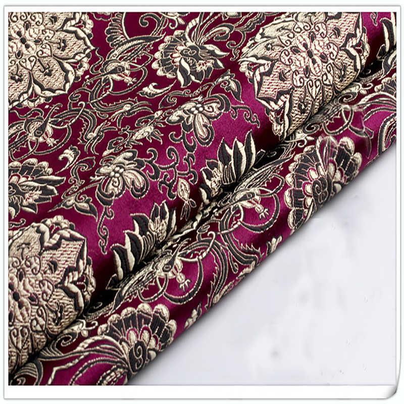 Парчовая ткань, дамасский жаккард американский стиль одежды обивка костюма мебель шторы DIY одежда материал по метрам