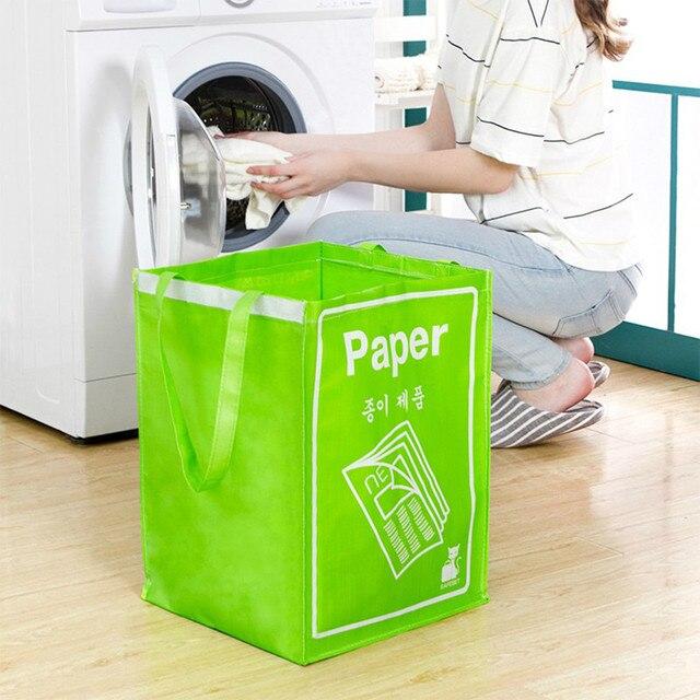 Saco Dobrável cesto de roupa Suja Cesto de roupa suja Organizador lavanderia Cestas de Piquenique Saco Impressão brinquedo de presente Organizador De Armazenamento