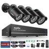 SANNCE 8CH HD 960H DVR 1080P NVR CCTV Home Security Camera System 4PCS IR Outdoor 900TVL