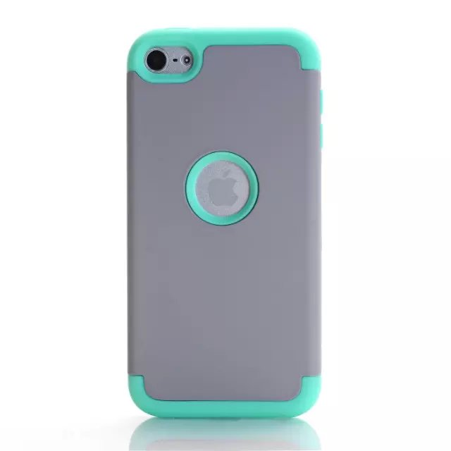 touch6 Shock Proof Case cover , PC & TPU 3 in 1 Cover For Apple iPod Touch 6 Hybrid Duty Case Cover + freeship