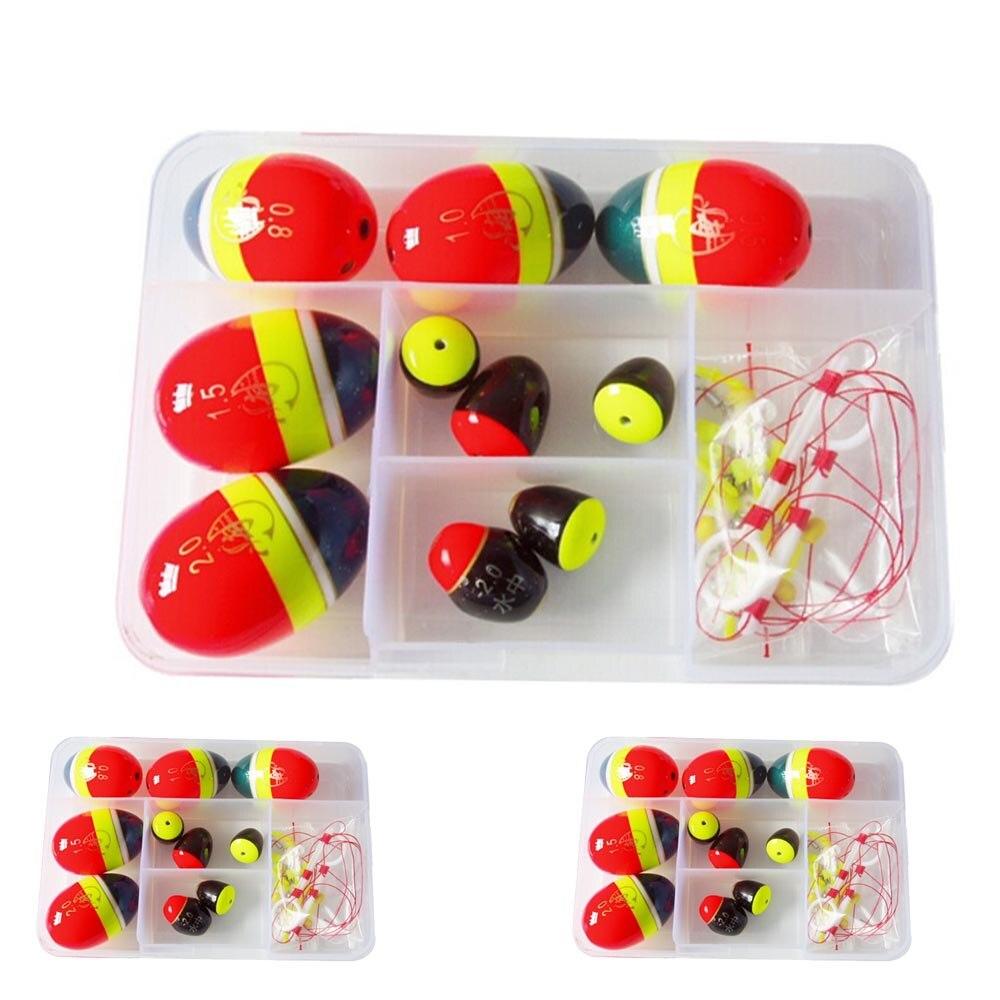 Ball Sea <font><b>floats</b></font> for fishing <font><b>Float</b></font> kits Snap Box Fishing Accessories Fish <font><b>Float</b></font> Ocean Rock Buoy Kit Set Tackle