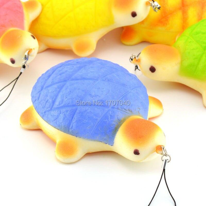 ?(^ ^)?14CM Jumbo Squishy Colorful ? Turtle Turtle Collectibles Bread Scented ? Fun Fun Hand ...