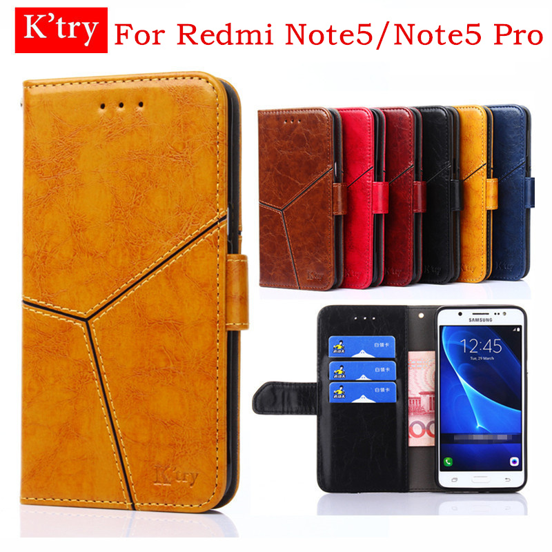 For Xiaomi Redmi Note 5 Case 5.99'' Luxury Flip Wallet Silicone Leather Cases For Redmi Note 5 Pro Cover Stand Card Holder Funda