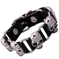 Bracelet Men Women Cow Belt Leather Bracelets Bangles Fashion Elegant Brown Leather Charm Mens Jewelry
