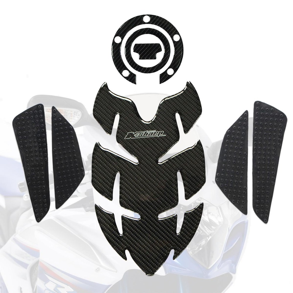 Motorcycle 3d decal fuel gas tank pad tank protector carbon sticker for yamaha mt 10 10 sp xsr900 abarth mt 09 09 tracer all in decals stickers from