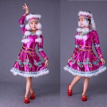 Национальные танцевальные костюмы для девочек, одежда Sinkiang, детская одежда в китайском стиле, одежда для детей, праздничный костюм, костюм для танца барабана, costu