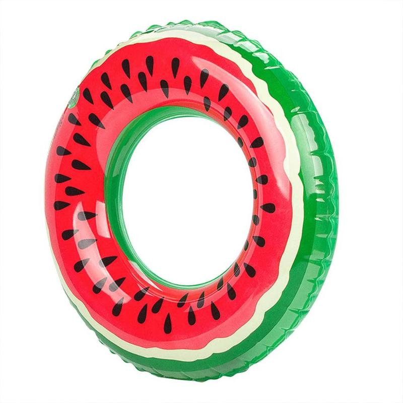Outdoor Watermelon Inflatable Swimming Ring Inflatable Pool Float Circle For Adult Kid Dropshiping