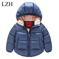 Girls Winter Coat Boys Down Jacket for Girls Jacket Pure Color Hooded Kids Jacket Baby Girls Outerwear Coats Children Clothing
