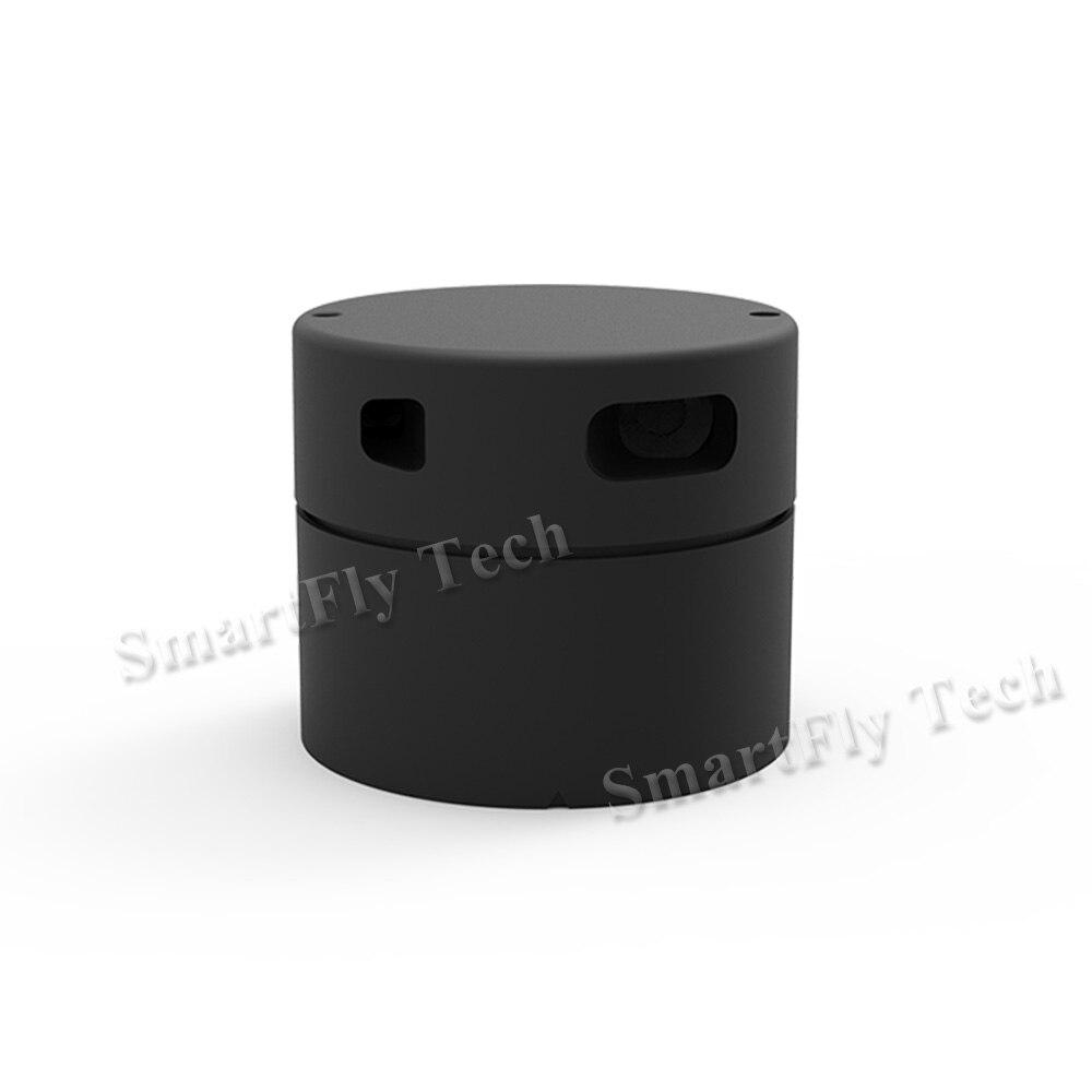 360 Degrés LaserRadar EAI LIDAR à Balayage Laser Range Finder Module Capteur 12 Mètre de Navigation De Positionnement F4 FLASH Enrouleur