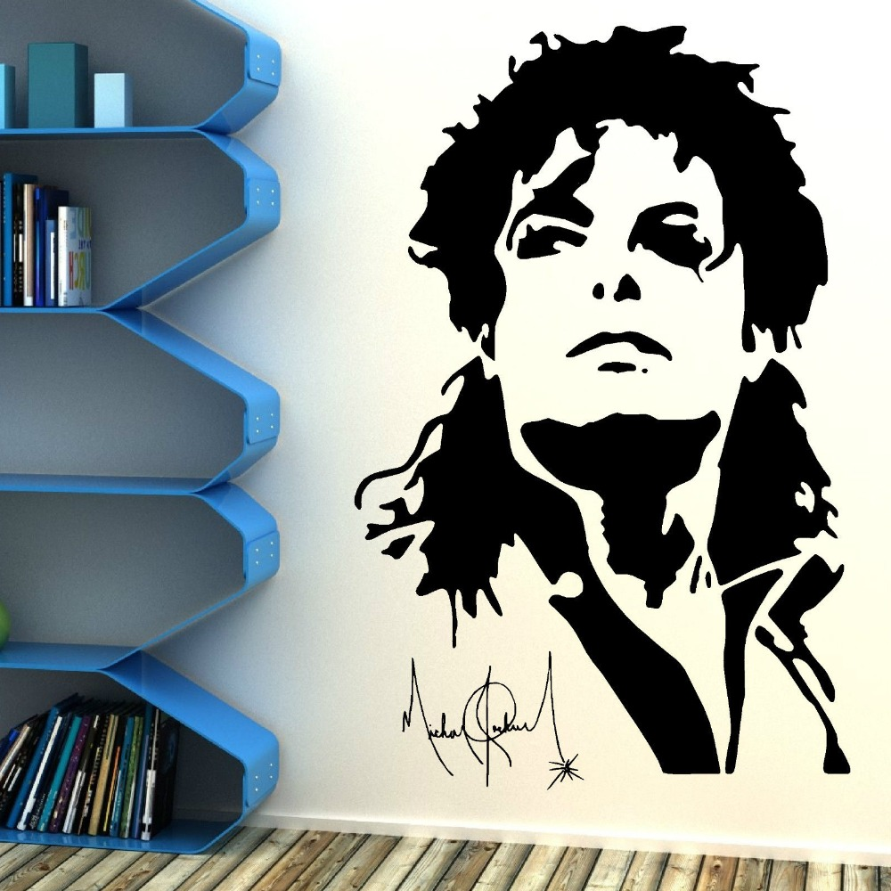 Superior Legal Michael Jackson Adesivo De Parede Silhueta Y 833 LWall Viny Mural Art  Home Decoração Do Quarto Adesivo De Parede Em Adesivos De Parede De Casa E  ... Part 32
