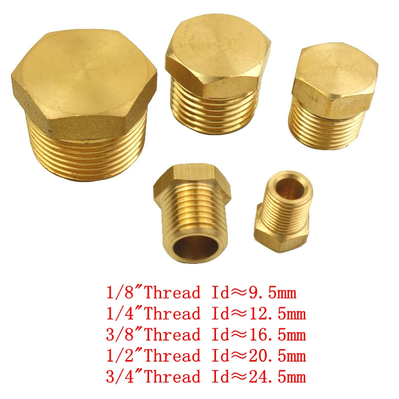 Brass Pipe Fitting 1/8