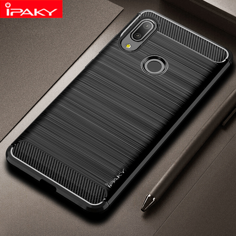 IPAKY Shockproof Phone Case Silicone Cover On For Asus ZenFone Max Pro M1 M2 ZB601KL ZB602KL ZB631KL ZB633KL M 1 2 4/6 32/64 GB(China)