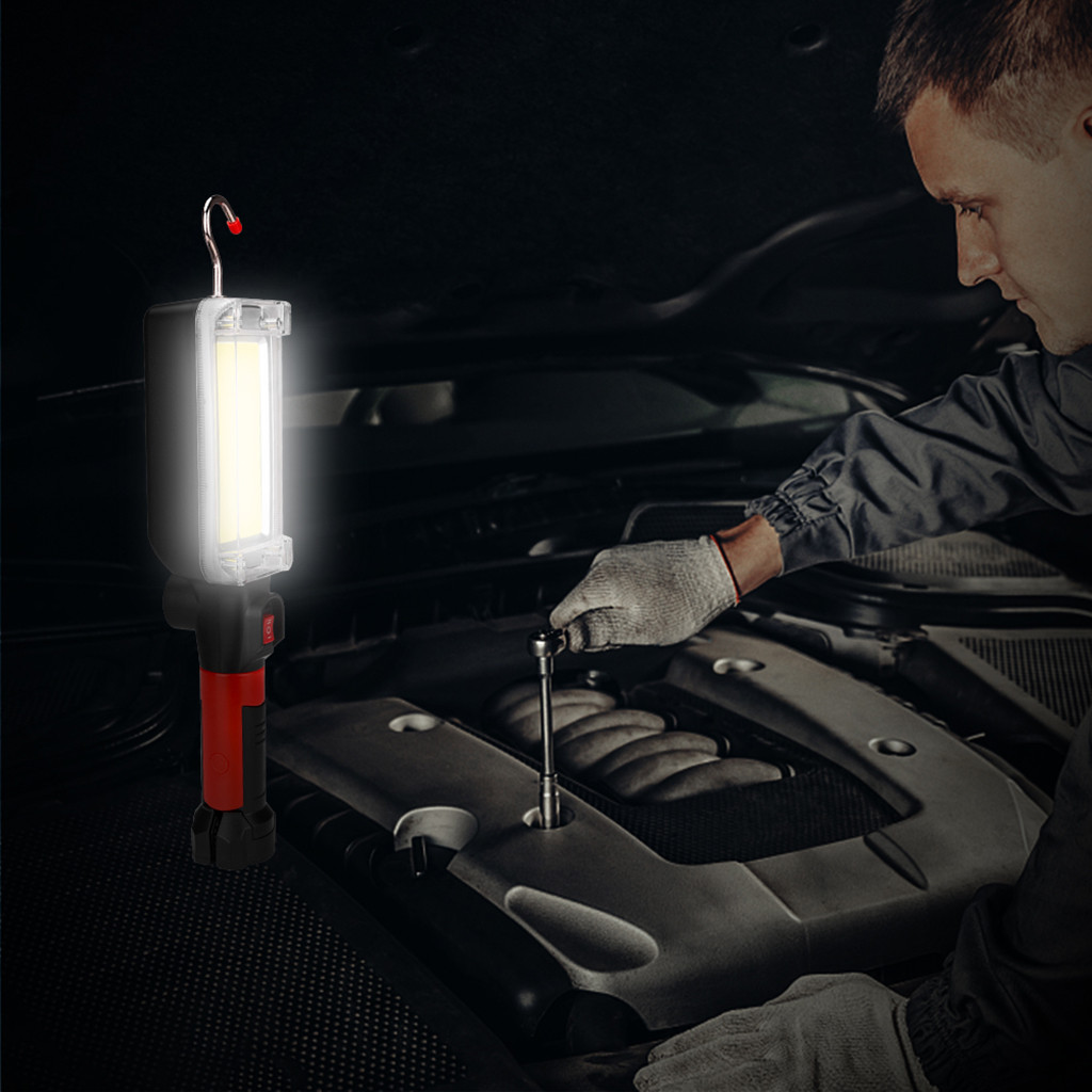 Usb Cob Led Magnetic Work Light Car Garage Mechanic Home: COB LED Inspection Light Torch Magnetic Handheld Work Home