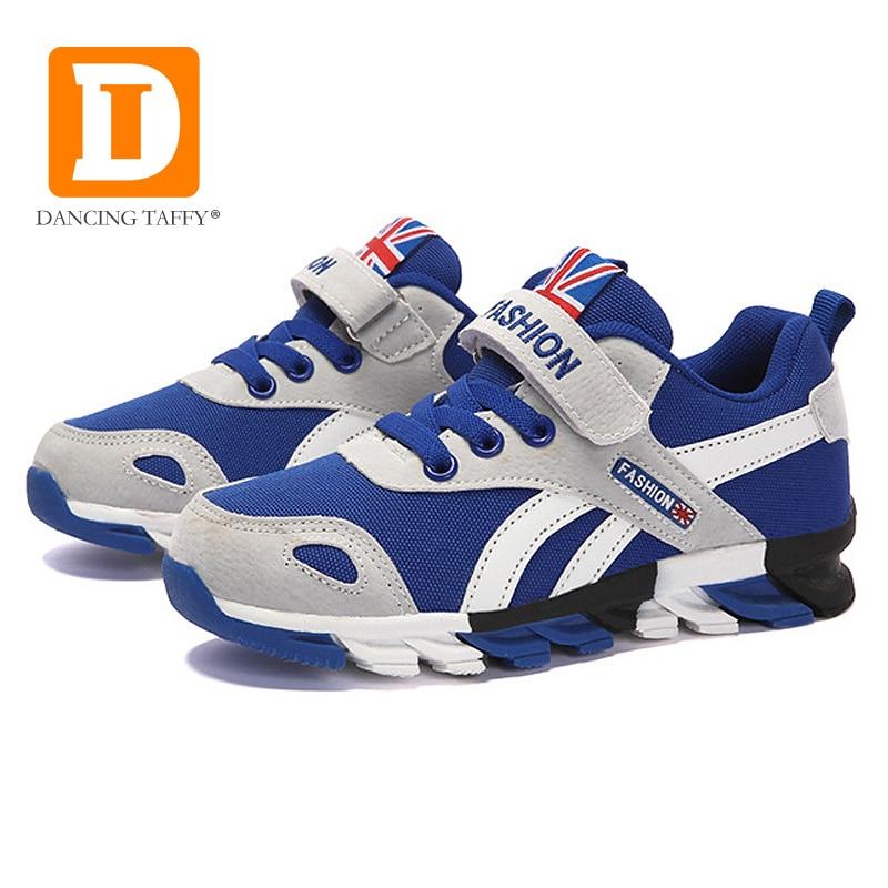 4cdb64367ea08 Taille 26-38 2019 Nouveaux Garçons Sneakers chaussures pour enfants Enfants  chaussures de course Pour baskets pour filles Mesh Respirant chaussures ...
