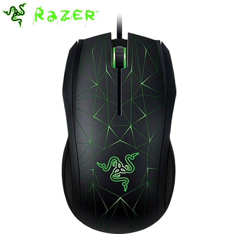 Razer Taipan 3500DPI Gaming Mouse Original USB Wired Ergonomic PC Gamer Mouse Ambidextrous 3 LED Backlights