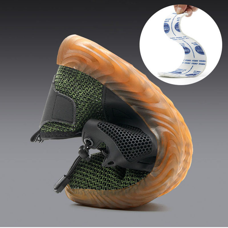 Dropship Lightweight Indestructible Ryder Shoes Men Women Steel Toe Safety Shoes Puncture-Proof Work Sneakers Breathable Boots