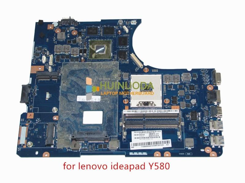 11S90000447 QIWY4 LA-8002P REV 1A For lenovo Ideapad Y580 motherboard DDR3 Intel HD4000+ Nvidia GeForce GTX660M graphics цена и фото
