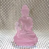 The glass Buddha in Tibetan Buddhist Buddha glazed decoration .