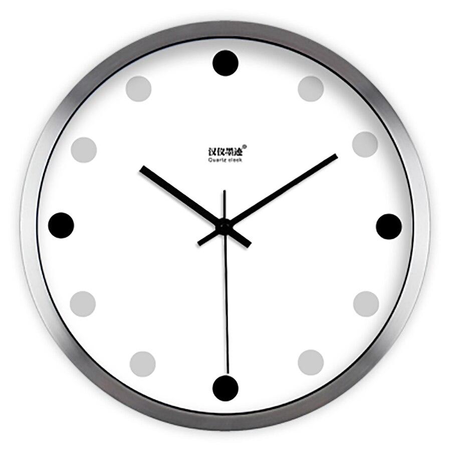 Nordique Art horloge murale Design moderne blanc horloge murale Simple montre mécanisme horloges Relogio Parede décor à la maison idées cadeaux WZH712