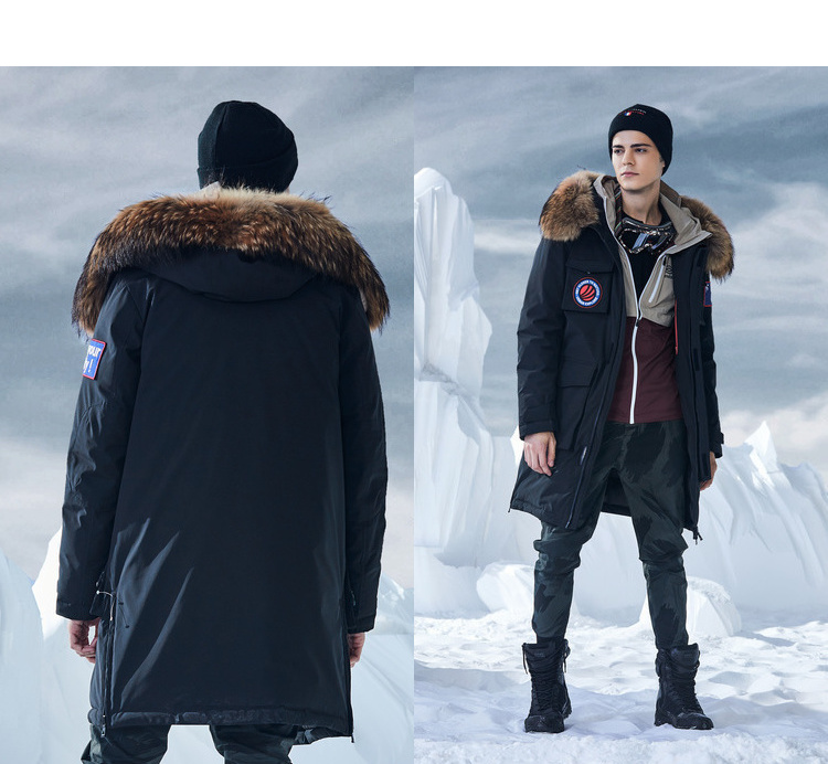 Bosideng New The Goose 2018 per Winter Jacket Deep frqfwH