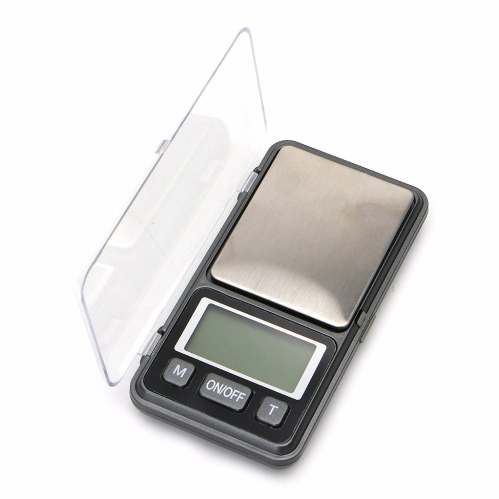 OOTDTY 1000g/0.1g Mini LCD Digital Pocket Scale Electronic Jewelry Gram Balance Weight #2S9670#