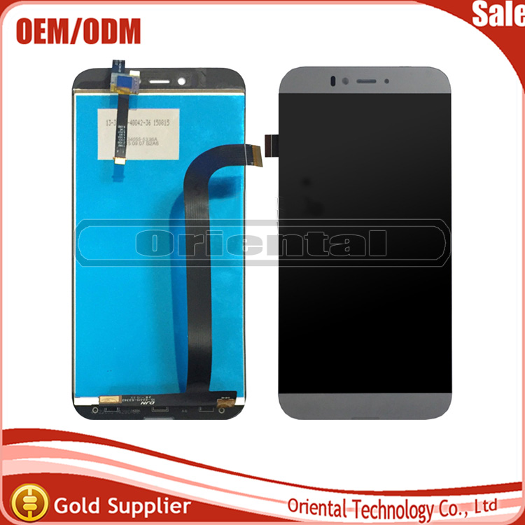 ФОТО Black/SILVER New Touch Panel For UMI IRON PRO 5.5inch LCD Display+Digitizer Touch Screen Replacement Accessories Cellphone